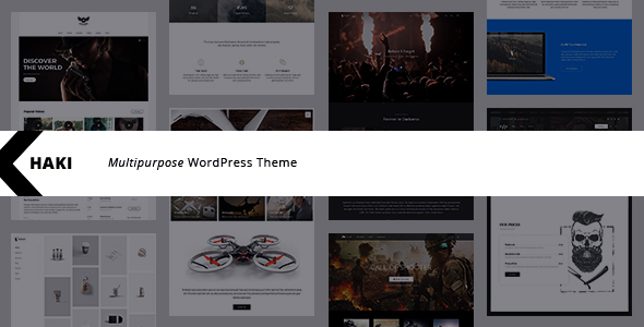 Khaki | Multi-Purpose WordPress Theme