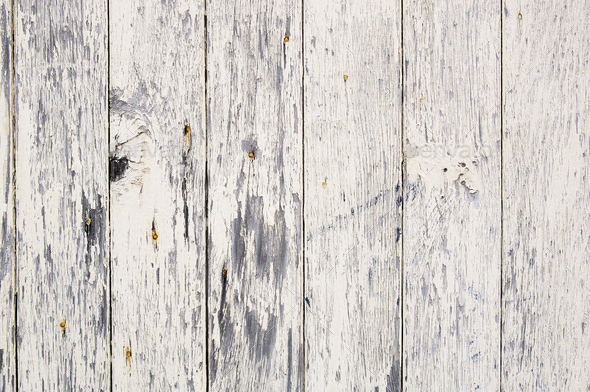 Weathered Paint on Wood - Stock Photo - Images