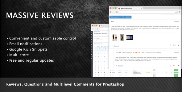 Prestashop Reviews, Questions and Multilevel Comments - CodeCanyon Item for Sale