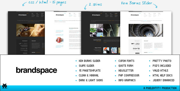 Brandspace – Minimal Portfolio & Business Template