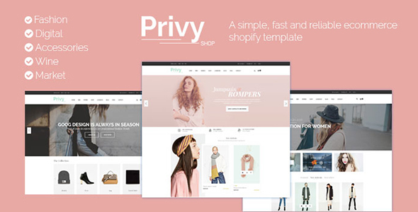 Privy Shopify - Responsive Drag & Drop