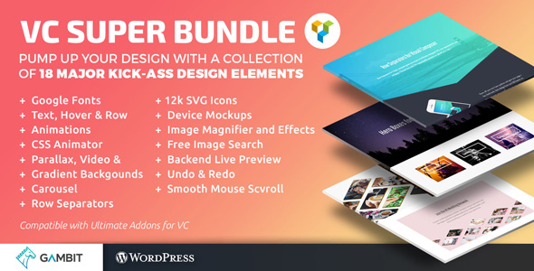 CodeCanyon Super Bundle for Visual Composer 20374176