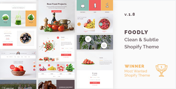 Foodly — One-Stop Food Shopify Theme - Health & Beauty Shopify