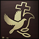 Dove Church Cross Logo - GraphicRiver Item for Sale