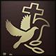Dove Church Cross Logo - GraphicRiver Item for Sale