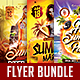 Summer Party Flyer Bundle Vol.2 - GraphicRiver Item for Sale