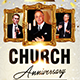 Church Anniversary Flyer Template - GraphicRiver Item for Sale