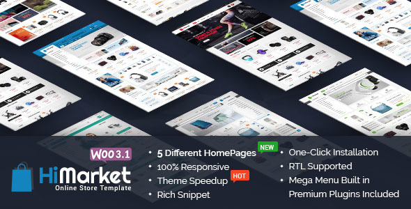 HiMarket - Responsive WooCommerce WordPress Theme - WooCommerce eCommerce