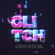 Digital Glitch Logo Reveal