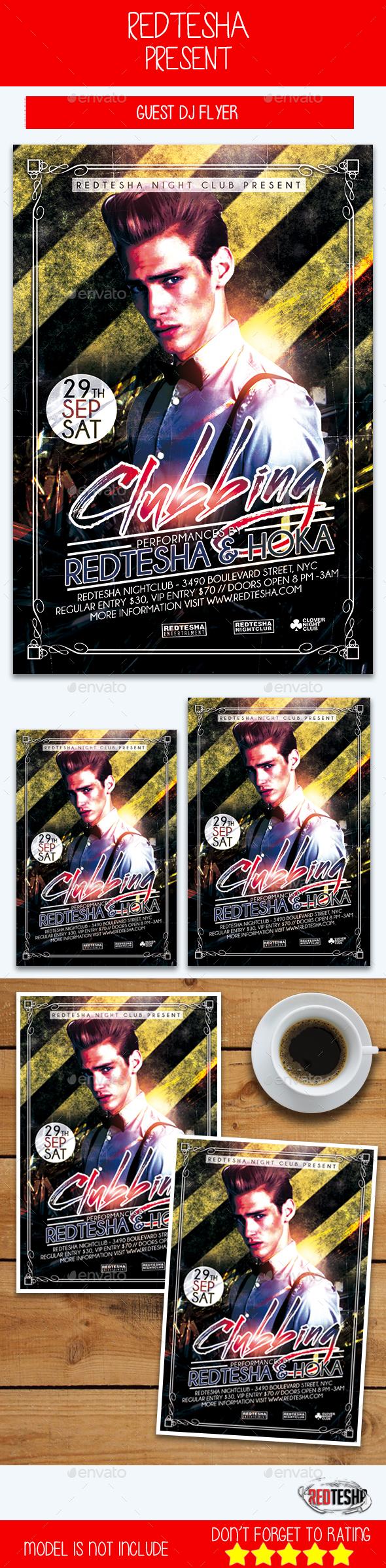 DJ Club Flyer - Events Flyers