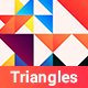 Colorful Triangles Backgrounds