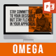 Omega PowerPoint Template - GraphicRiver Item for Sale