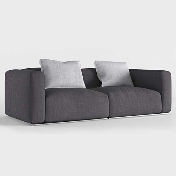 Vray Ready Poliform Sofa - 3DOcean Item for Sale