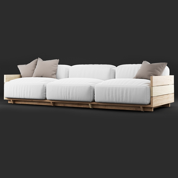 3DOcean Vray Ready Luxury Modern Sofa 20375282