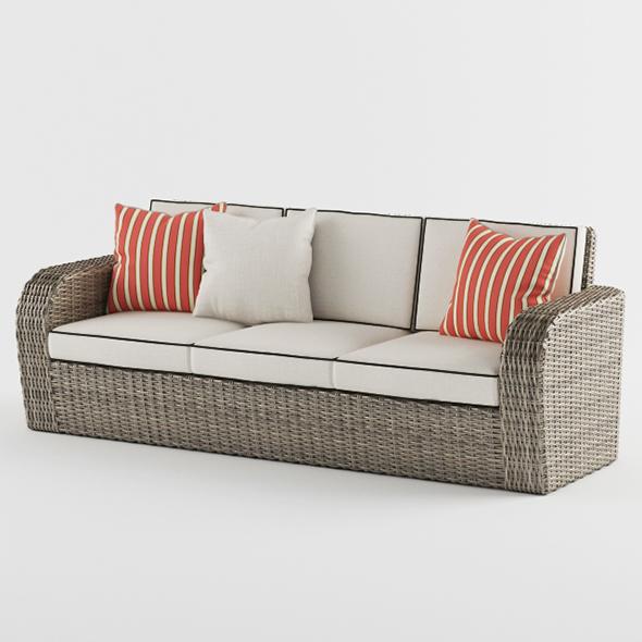 3DOcean Vray Ready Luxury Modern Sofa 20375456