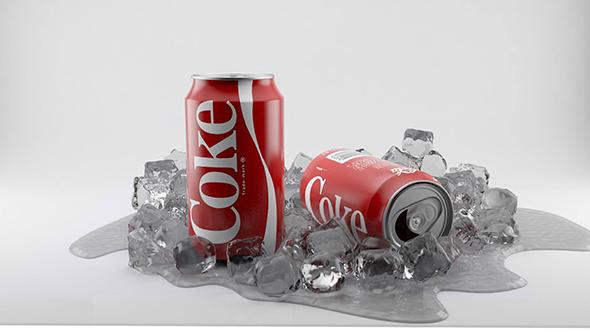 3DOcean coca cola 20375486