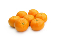 tangerine on white background - PhotoDune Item for Sale