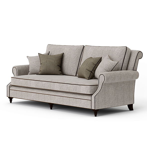 Vray Ready Luxury Royal Sofa - 3DOcean Item for Sale