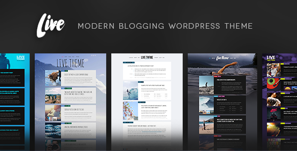 Live — Blog WordPress Theme - Personal Blog / Magazine