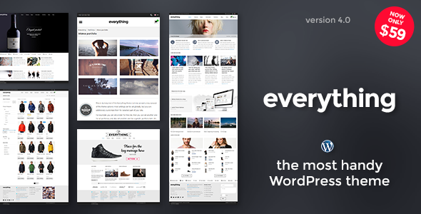 Everything — Responsive WordPress Theme - Business Corporate