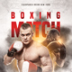 Boxing Match Flyer - GraphicRiver Item for Sale