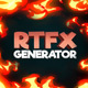 RTFX Generator + 510 FX pack - VideoHive Item for Sale