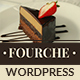 Fourche — Restaurant & Cafe WordPress Theme - ThemeForest Item for Sale