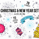 Christmas & New Year Set - GraphicRiver Item for Sale
