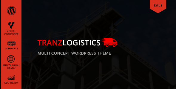 Tranzlogistics - Multi Concept WordPress Theme