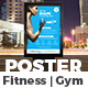 Gym & Fitness Poster Template