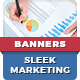 Sleek Advertisement Banners - GraphicRiver Item for Sale