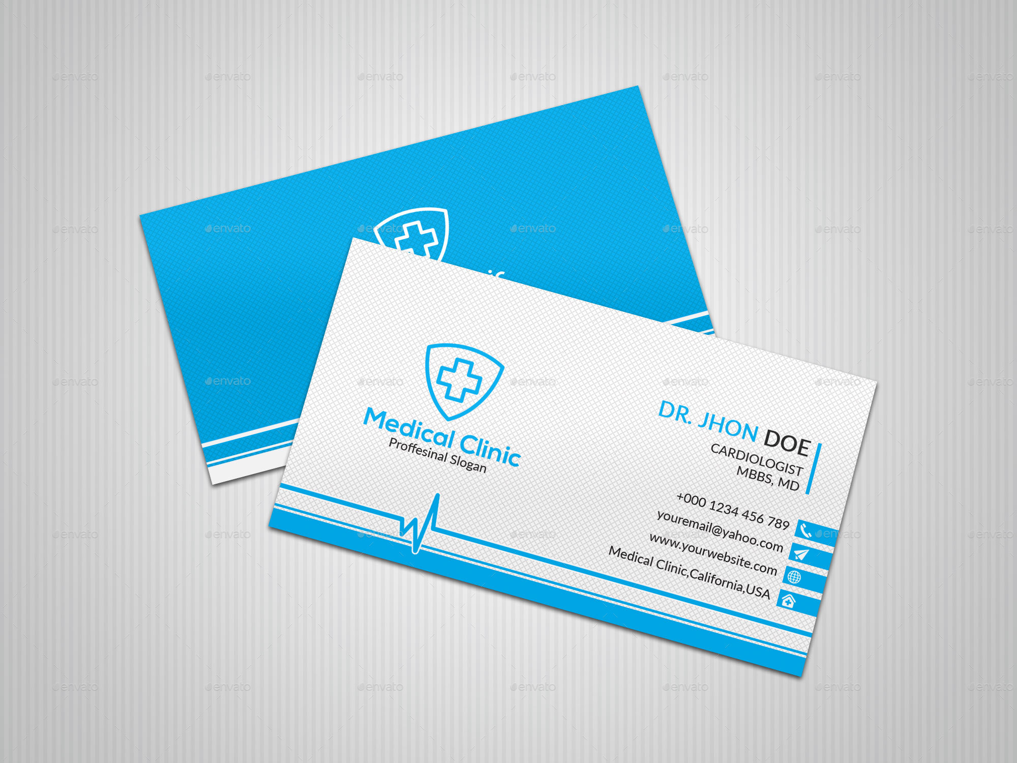 Doctor Business Card by Dider_Design | GraphicRiver