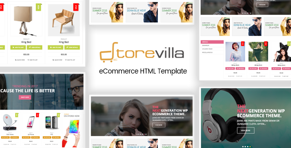 StoreVilla - Multipurpose eCommerce Template