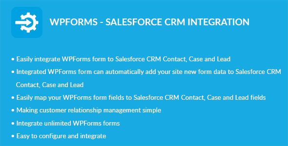 WPForms - Salesforce CRM Integration - CodeCanyon Item for Sale