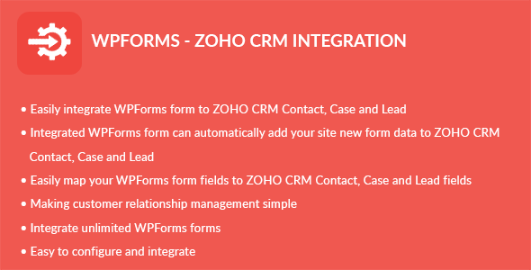 WPForms - ZOHO CRM Integration - CodeCanyon Item for Sale