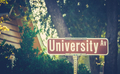 University Ave Sign - PhotoDune Item for Sale