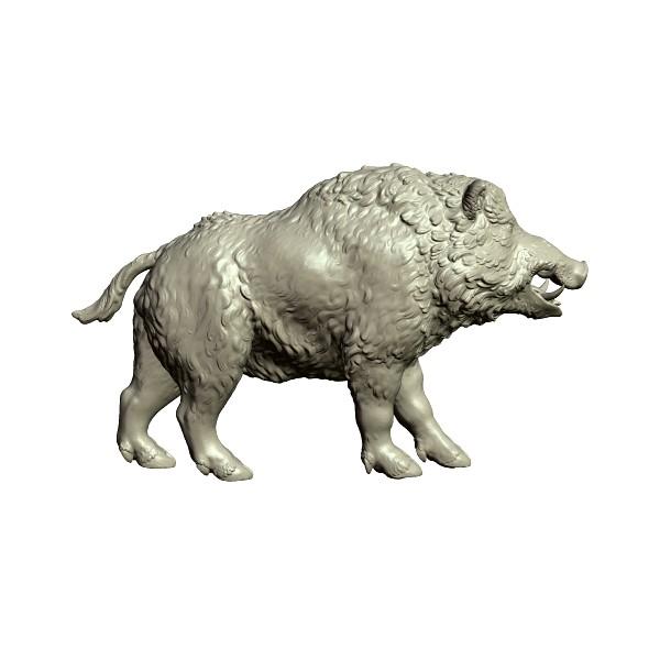 3DOcean Boar fugurine 20378616