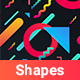 Abstract Shapes Backgrounds - GraphicRiver Item for Sale