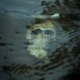 Skull Washed by Waves