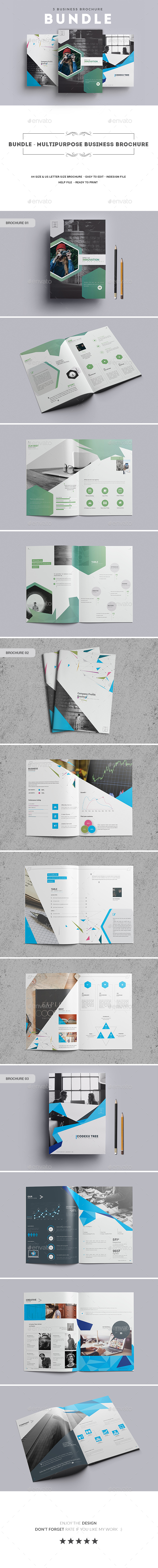 GraphicRiver Bundle Multipurpose Business Brochure 20379157