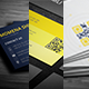 3 in 1 Sleek Business Cards Bundle - GraphicRiver Item for Sale