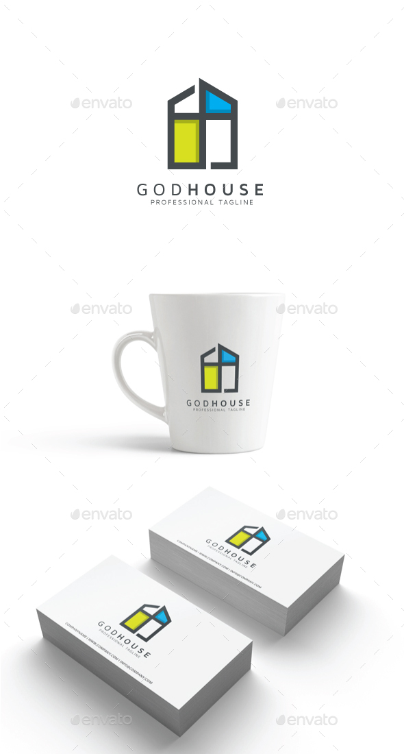 GraphicRiver God House Logo 20379620
