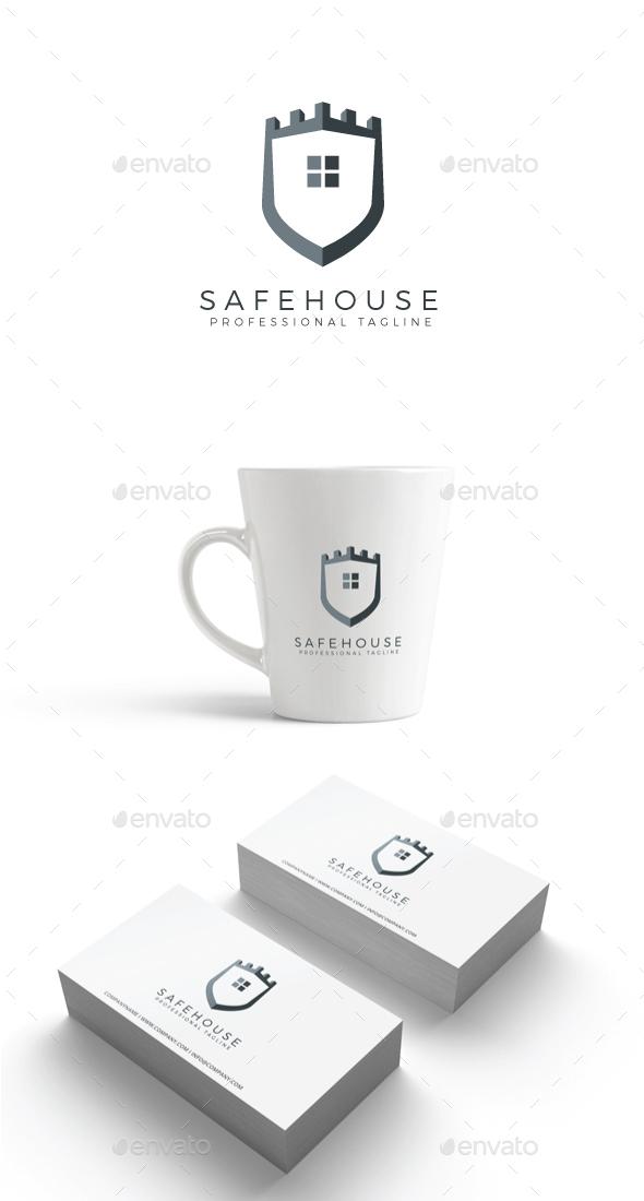 GraphicRiver Safe House Logo 20379685