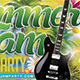 Summer Jam Party - GraphicRiver Item for Sale
