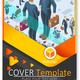 Newsletter Customizable Vector Template Corporate Magazine