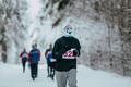 Male Runner of Winter Marathon