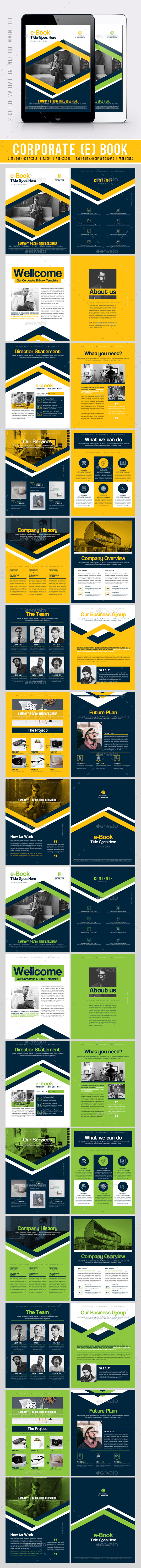 GraphicRiver Corporate E-Book 20380644