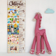 Personalized Kids Photo Slideshow Growth Chart Ruler