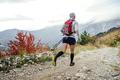 Back of Athlete Runner