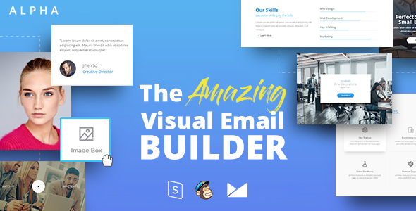 ALPHA - Responsive Email + StampReady Builder